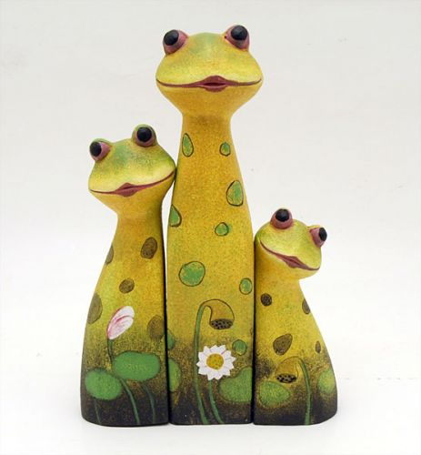 Indoor Decor - Frog Family Set - SALE 2 for $50