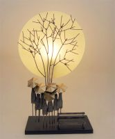 Indoor Decor - Full Moon Autumn Lamp SALE