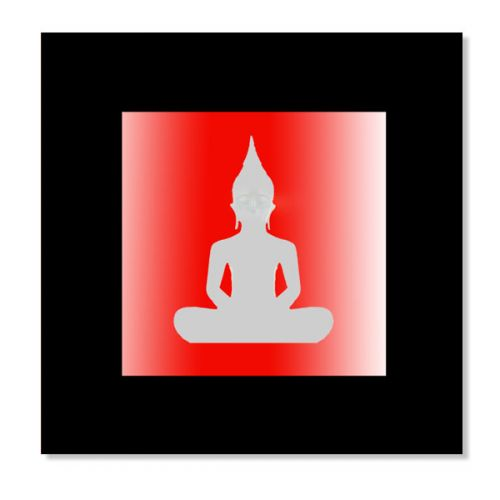 Indoor Decor - Buddha LED Mount - SALE