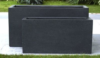 Premium Lightweight Terrazzo Narrow Rectangular Oblong Planter 1000 x 230 x 400 H mm - Size 1