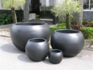 Premium Lightweight Terrazzo Ball Planter - 4 sizes
