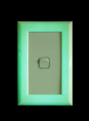 Glow in the dark light switch marker