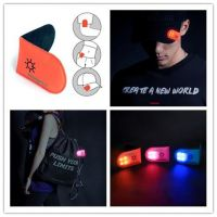 LED safety light - clip on with magnets for cyclists