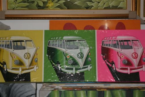 Indoor Decor - VW Combi Painting SALE