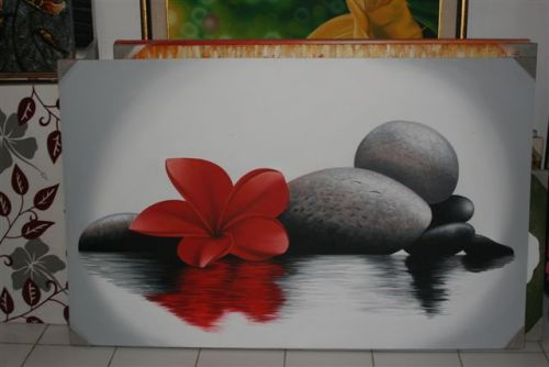 Indoor Decor - Zen Frangipani Painting SALE