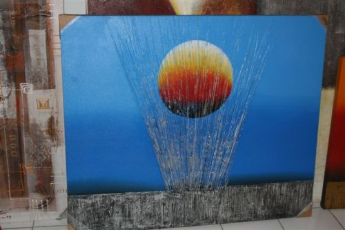 Indoor Decor - Sunset Blue Painting SALE