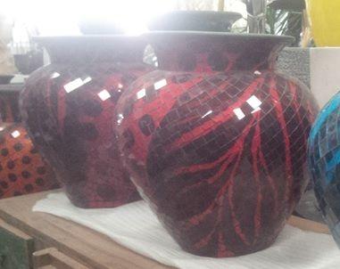 Indoor Decor - Mosaic Jars - 3 sizes