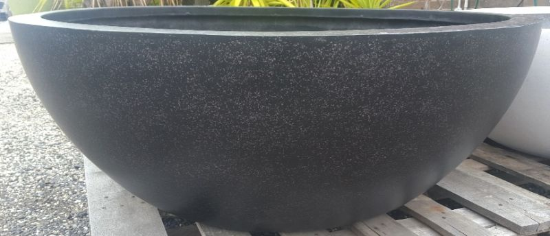 Standard Lightweight Terrazzo Shallow Bowl