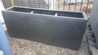 Premium Lightweight Terrazzo Narrow Oblong Planter 1500 x 350 x 600 H mm - Size 2