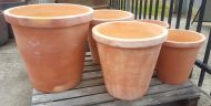 Terracotta Crucible Planter (2 Sizes) - FINAL CLEARANCE