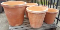 Terracotta Crucible Planter (No Drain) - 2 Sizes