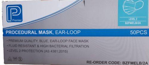Face masks - Type 2 fluid resistant
