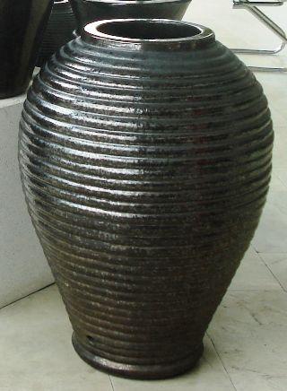Glazed Adobe Jar 640 x 860 H mm