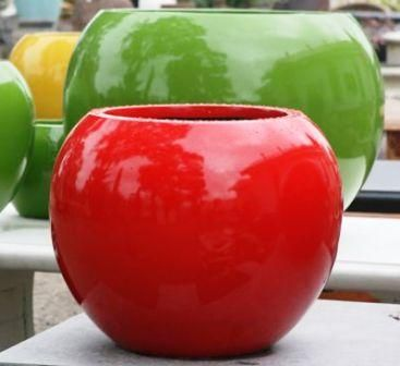 Lightweight UV Fibreglass BRIGHT COLOUR Outdoor Pots