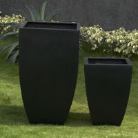 Premium Lightweight Terrazzo Tall Milan Planter 350 x 510 H mm - Size 1