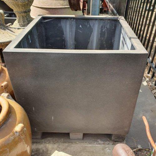 High Cube Planter in Premium Lightweight Terrazzo
