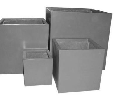 Standard Lightweight Terrazzo Cube Planter