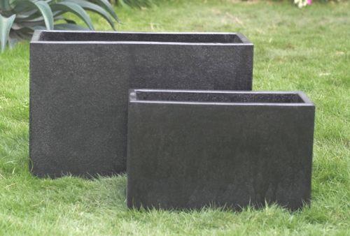Concrete Terrazzo Oblong Planter 1000 x 400 x 500 H mm - Size 3
