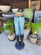 Jeans planter / ice bucket - Fiberglass
