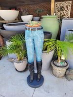 Jeans planter / ice bucket - Fiberglass