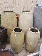 Glazed Rocket Pot - 2 Size