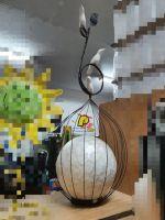 Indoor Decor -Lamp pumpkin standing