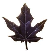 Maple leaf and Lotus leaf