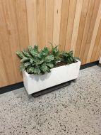 Oblong Planter in Premium Lightweight Terrazzo (Size 1) 700 x 200 x 200H mm