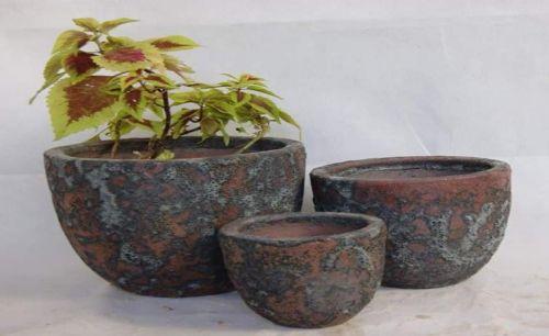 Hoop Bowl- Oceanic  Bronze - 4 Size