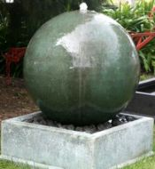 GRC Sphere Fountain 800 x 1110 H mm