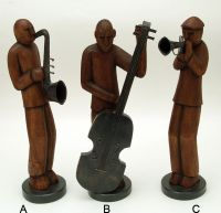 Indoor Decor - Musicians Asstd