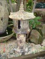 Ocean Rock Pagoda Lamp Tall - 530 x 1050 H mm