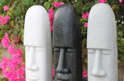 Easter Island  Male - L Statue