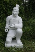 Kneeling Warrior Statue