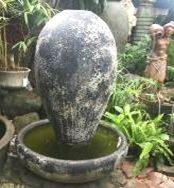 Ocean Rock Tear Drop Urn Fountain Set