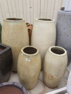 Glazed Rocket Pot - 2 Size