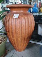 GRC Roman Fluted Urn