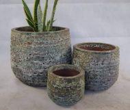 Ocean rock  - Ring Planter- 3 Size