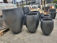 Round Taper Crucible Villa Pot - 3 Size